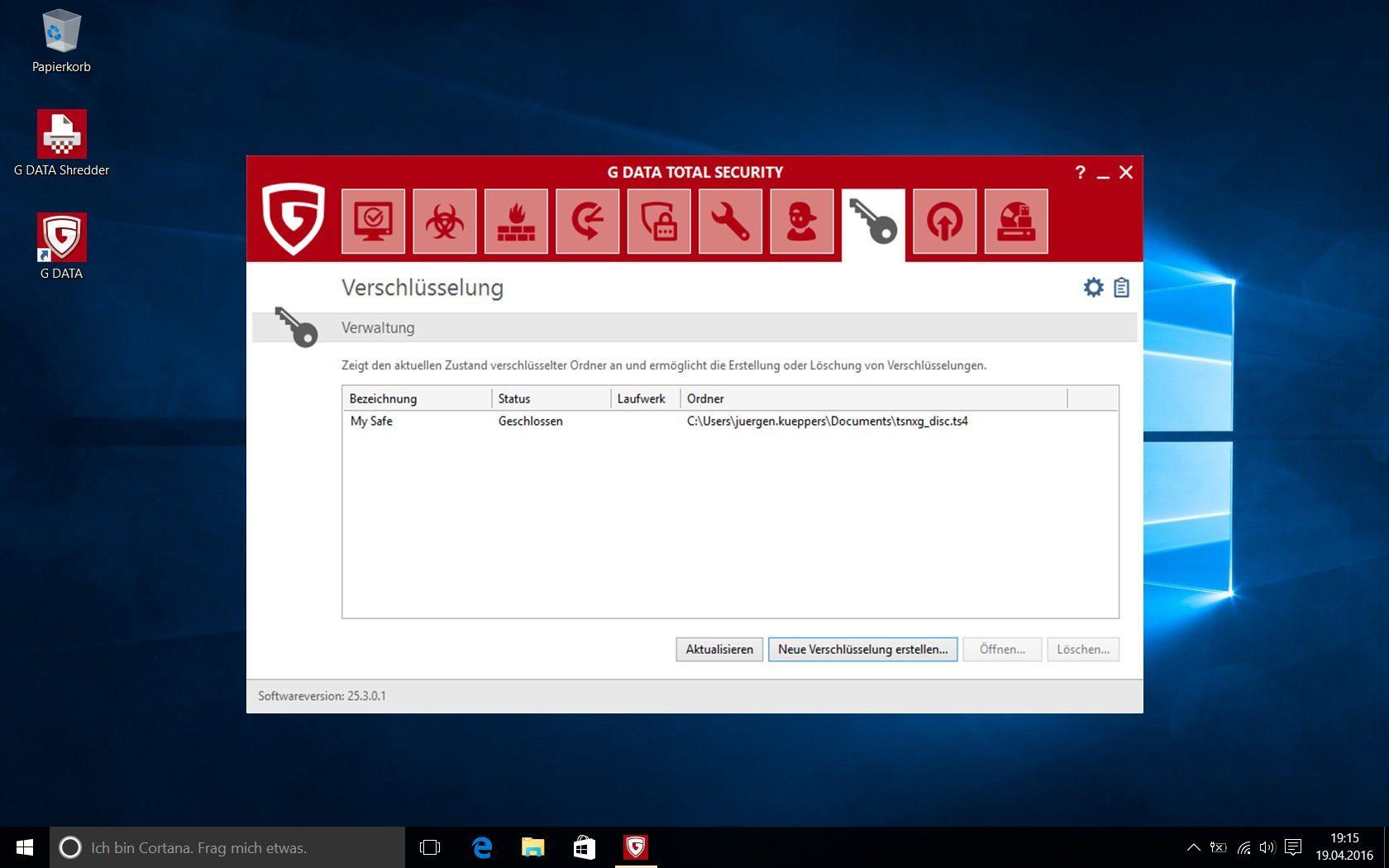 G DATA Total Security 2019 für 1 Windows-PC / 1 Jahr / Erstklassiger Rundumschutz durch Firewall & Antivirus / Trust in German Sicherheit[Download] - 11