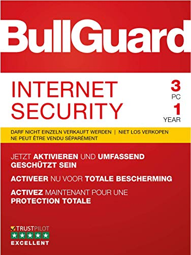 BullGuard Internet Security 2019 1J/3 Geräte