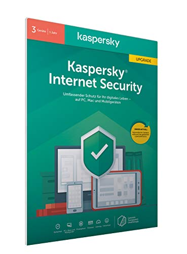 Kaspersky Internet Security 2020 Upgrade | 3 Geräte | 1 Jahr |
