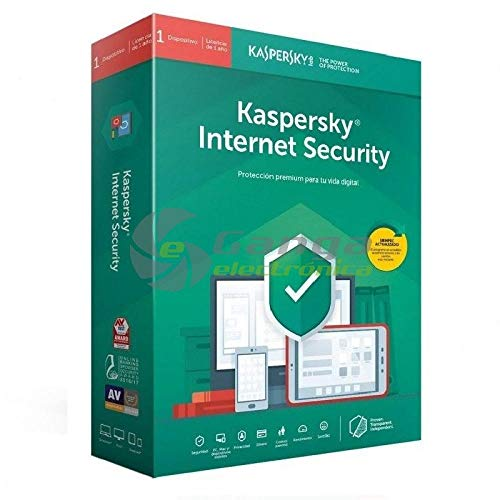 Kaspersky Software ANTIVIRUS 2020 Internet Security 1 Lizenz (Nicht CD)