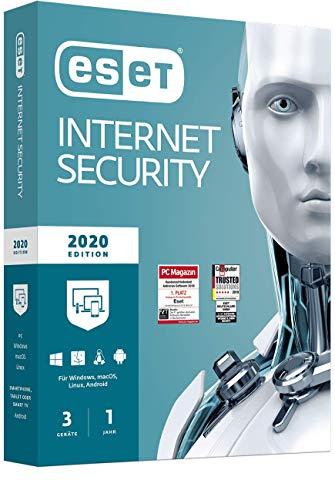 ESET Internet Security 2020 | 3 Geräte | 1 Jahr |