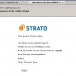 Die angebliche STRATO-eMail